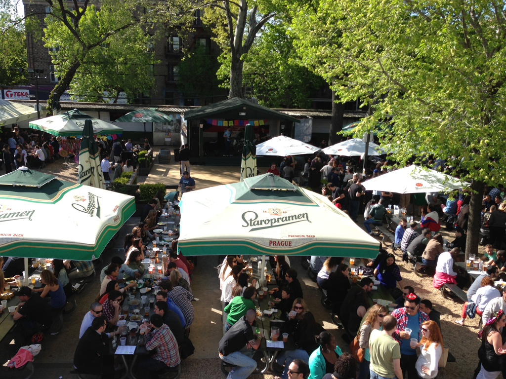 The Coolest Beer Gardens Around The World Cond Nast Traveler Bohemian Hall And Beer Garden