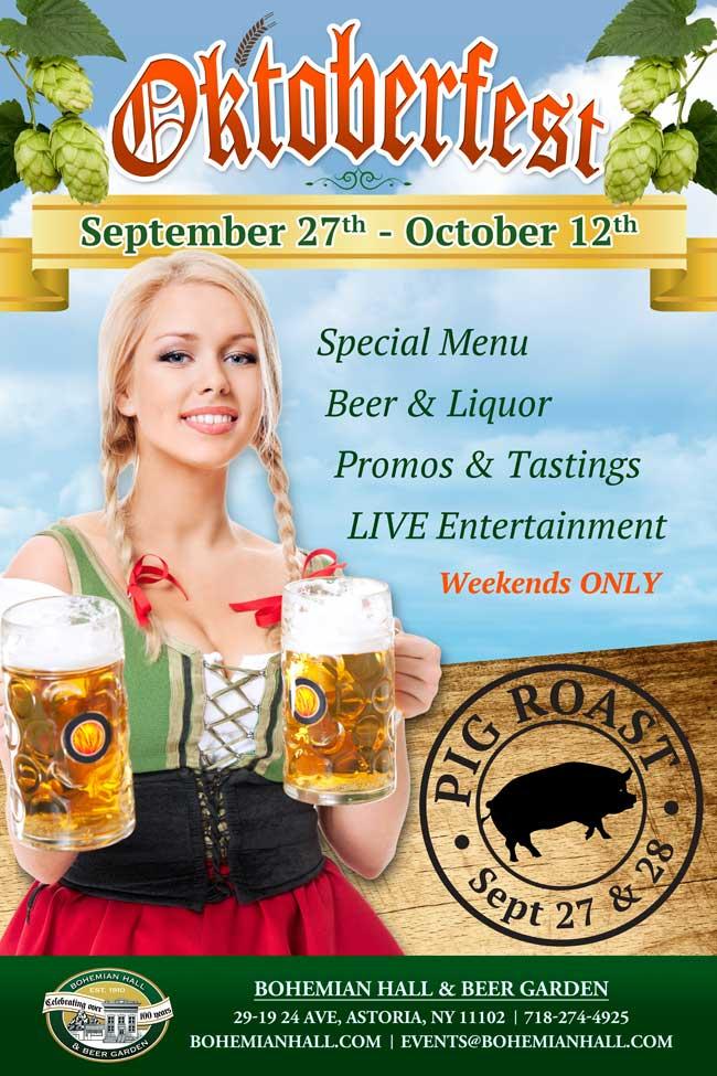 Oktoberfest Bohemian Hall And Beer Garden Of Astoria
