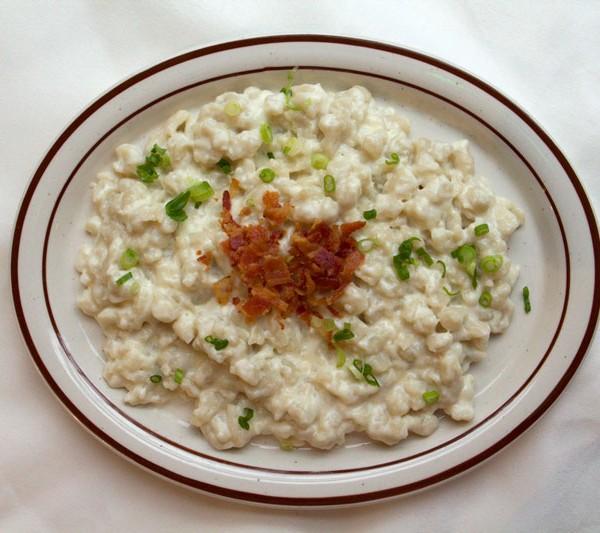 """Brynzove Halusky"" or Sauerkraut"