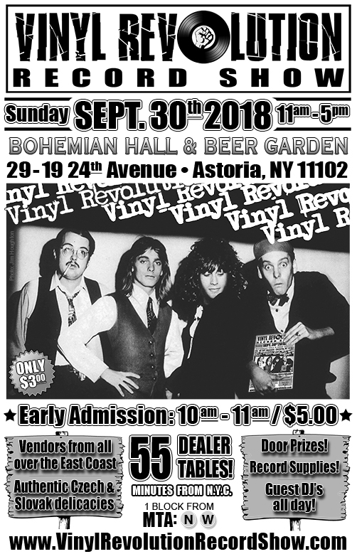 Admission $5 1,000's of rare and collectible vinyl records! Guest DJ's throughout the day!! Door Prizes